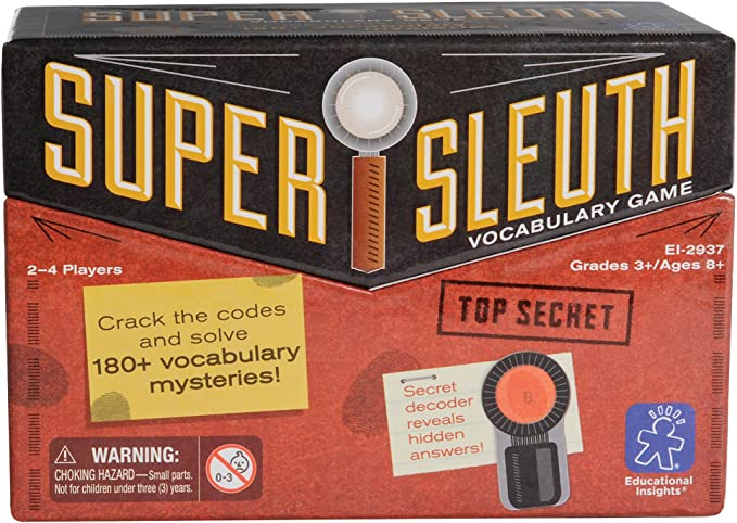 Please choose: CLUEDO SUPER SLEUTH INDIVIDUAL CARDS /& SPARE PIECES