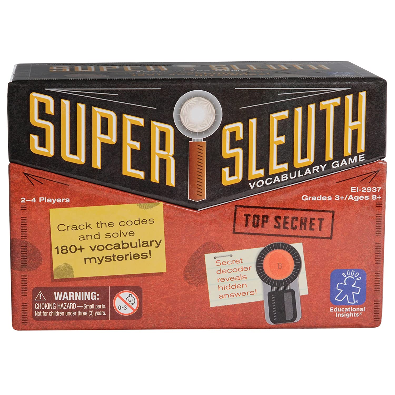 Educational Insights Super Sleuth Vocabulary Game EI-2937