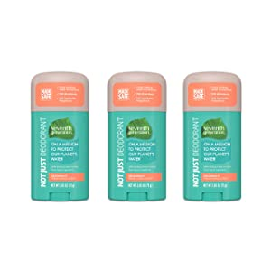 Seventh Generation Aluminum-Free Deodorant Fresh Citrus Scent Biodegradable Formula 2.65 oz 3 Count