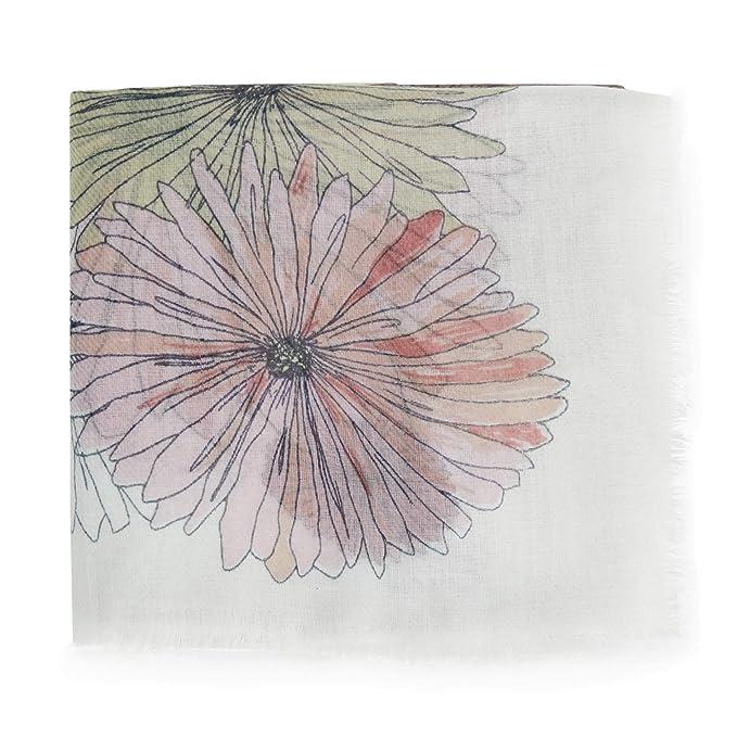 2c0cef5a Parfois - Pañuelo Estampado Season Floral - Mujeres - Tallas M - Crudo:  Amazon.es: Ropa y accesorios