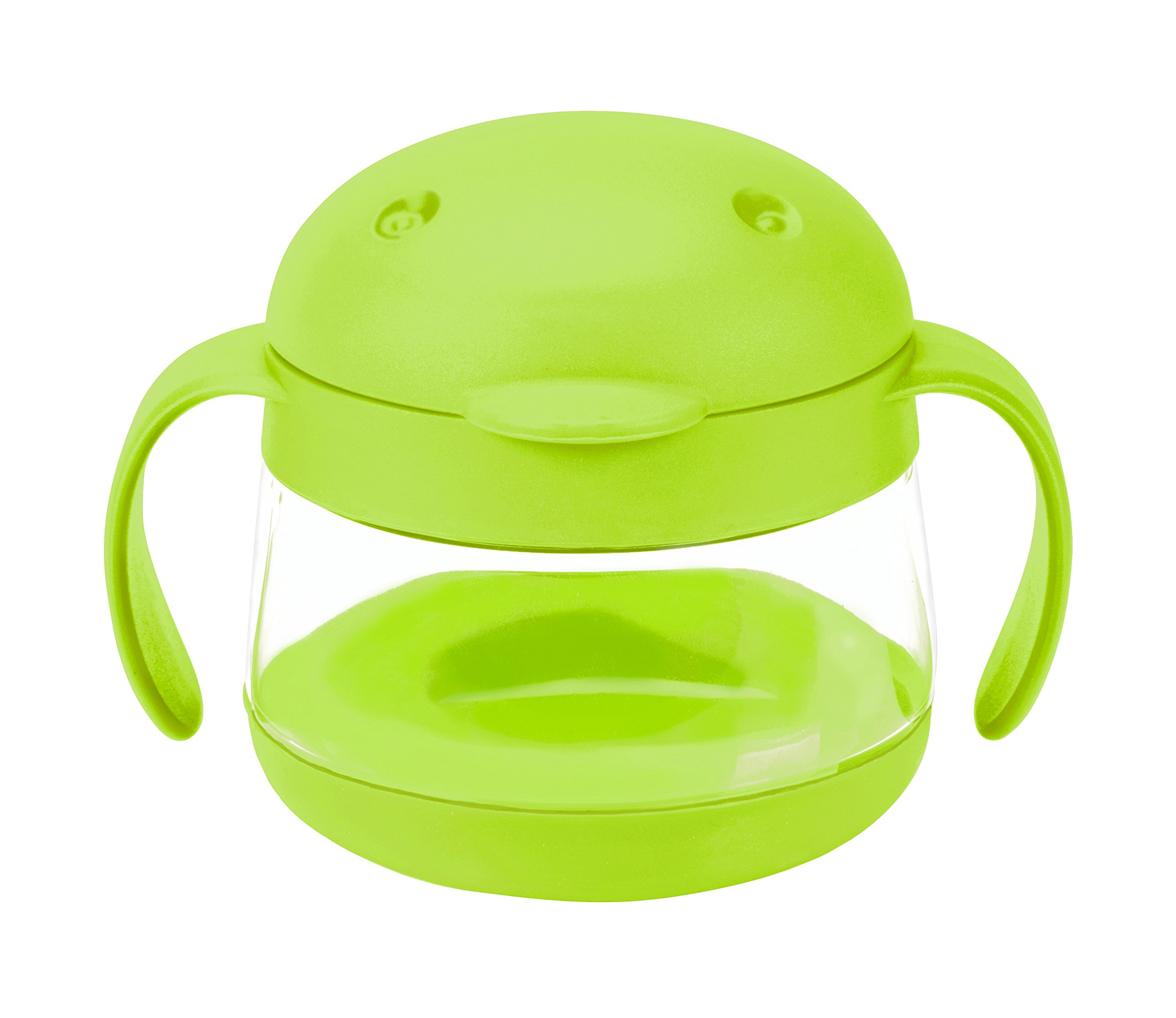 Ubbi Tweat Snack Container, Green, 9 Ounce