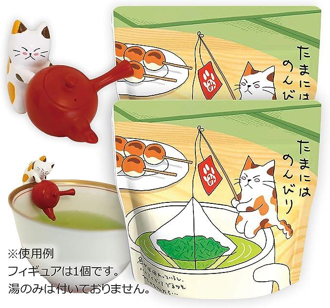 MTR-Z15B 静岡天竜茶2g×10×2 みたらしちゃんフィギュア1個付 ねこ 日本茶 緑茶 ギフト