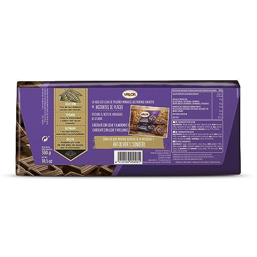 Valor - Chocolate con leche, 1 x 300 g