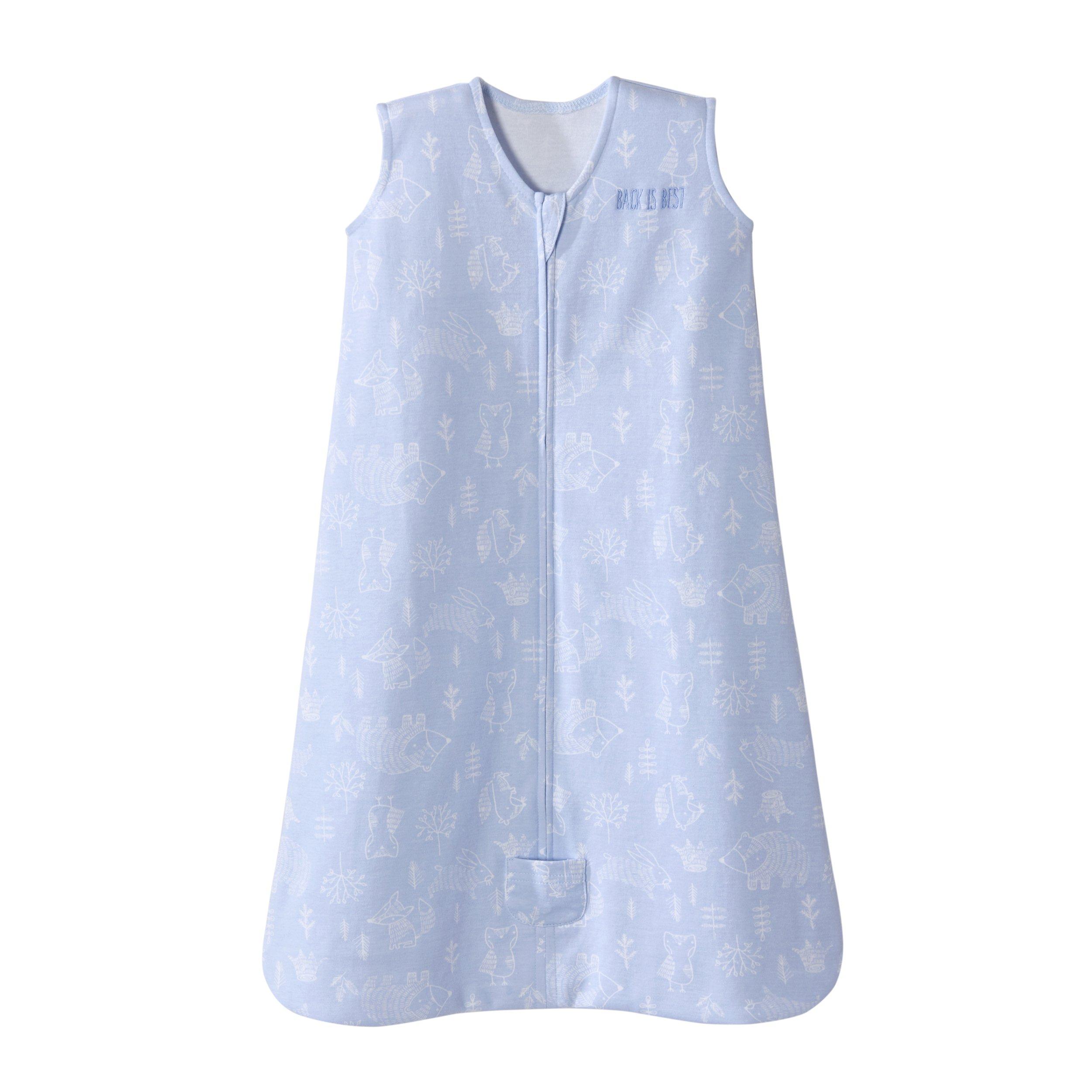 cb8a57688a Halo Sleepsack Wearable Blanket Cotton Woodland Etch Blue