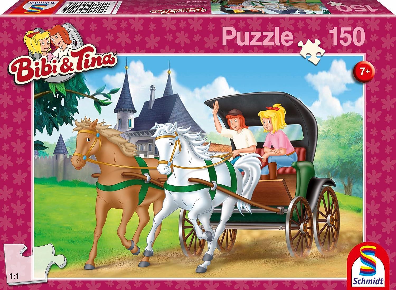 150 Teile Schmidt Spiele Kinder Puzzle Bibi /& Tina Auf dem Heuboden 56188