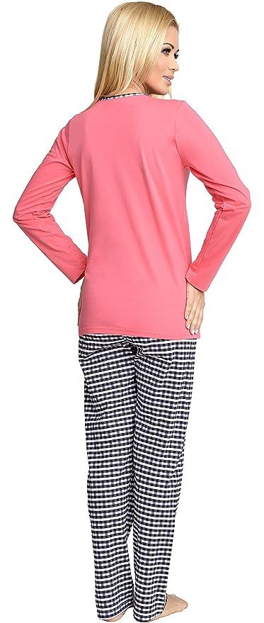 Be Mammy Mujer Lactancia Pijamas Dos Piezas GR2T2: Amazon.es: Ropa y accesorios