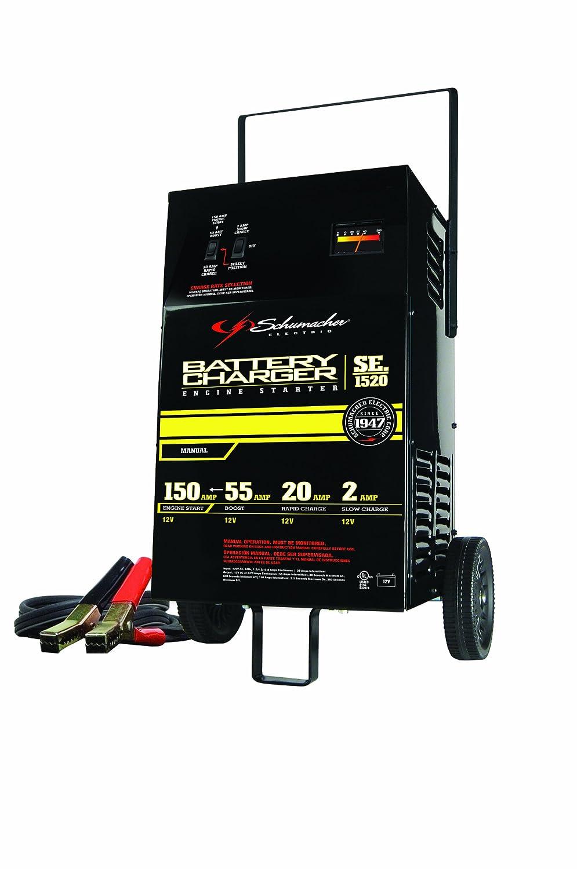 Amazon.com: Schumacher SE-1520 '150/40/2 Amp' 12V Manual Starter Charger:  Automotive