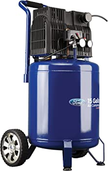 Ford Silent Series 15 Gallon Vertical Tank 2 Air Compressor