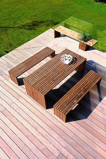 Table Picnic Bois Luxe Emejing Table De Jardin En Bois ...