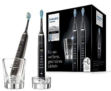 Philips Sonicare DiamondClean HX9357 Adulto Cepillo dental sónico Negro - Cepillo de dientes eléctrico (Batería