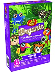 Jelly Belly Organic Rainforest Fruit Snacks, Assorted Flavours, 6 Count