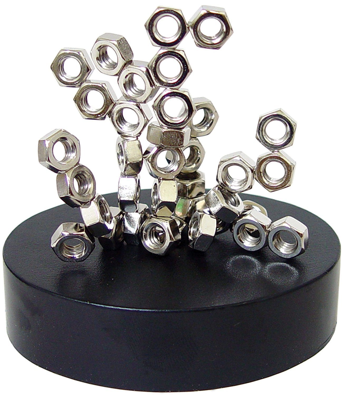 Linlinzz Magnetic Sculpture - Desk Toy for Intelligence Development Stress Relief (Nuts)
