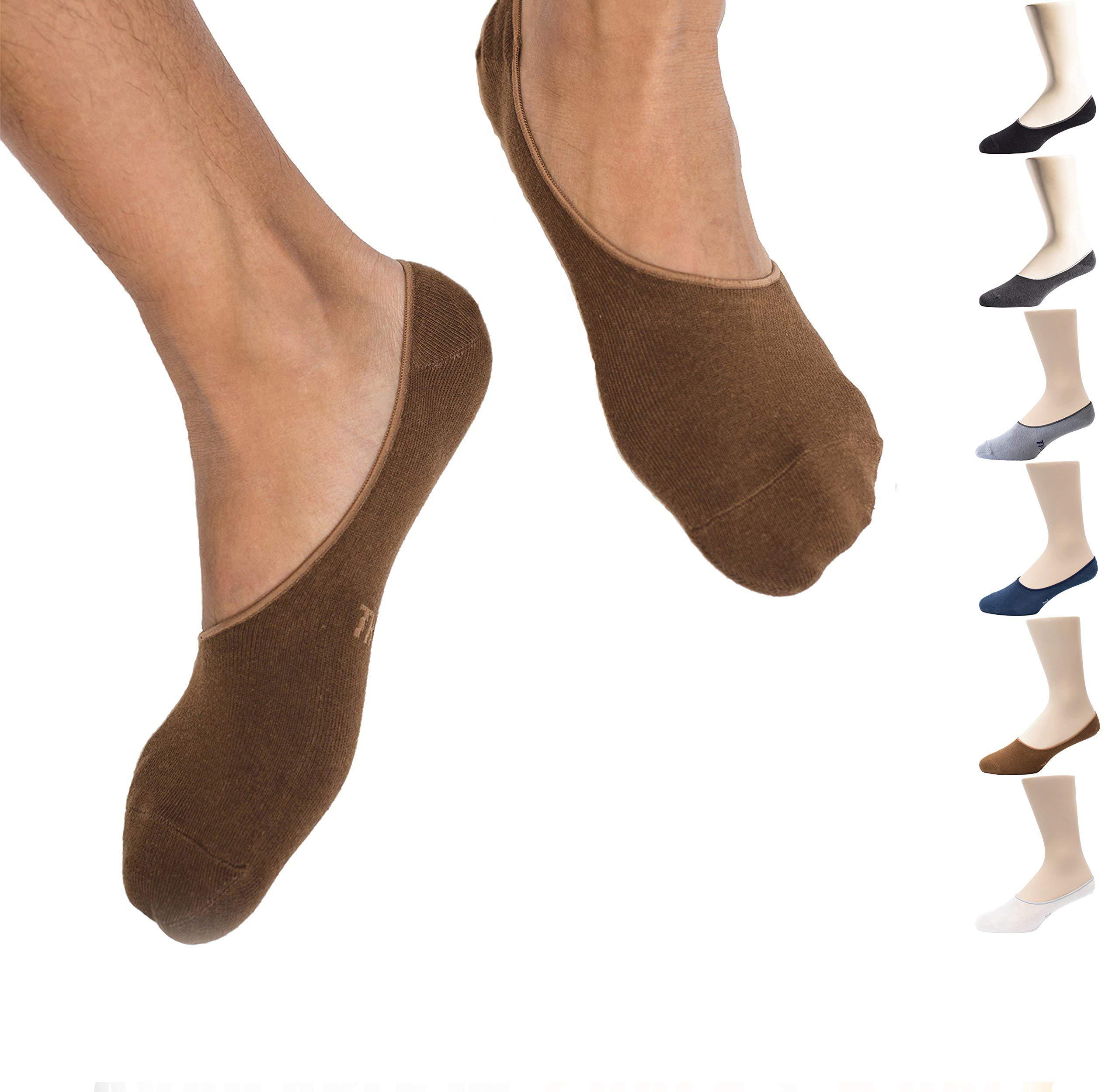 Thirty48 Men No Show Socks, Loafer Socks Boat Shoe