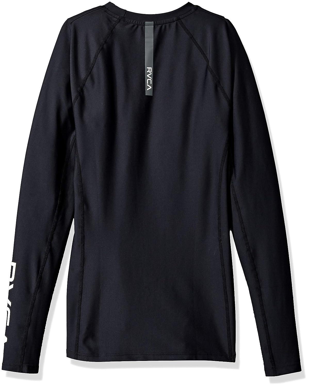RVCA Mens Va Compression Long Sleeve Crew Neck Shirt