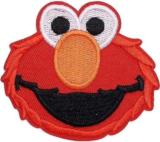 Parche para Coser Sesame Street Elmo Bordado Termoadhesivo