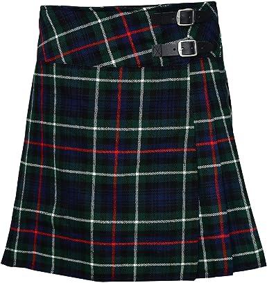 SHYNE KILTS U.K - Falda - falda escocesa - para mujer: Amazon.es ...