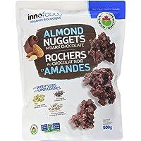 Innofoods-Organic-Almond Nuggets-Dark Chocolate 500g