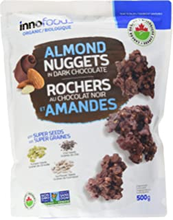 Amazon.com: Innofoods Organic Dark Chocolate Nuggets with ...