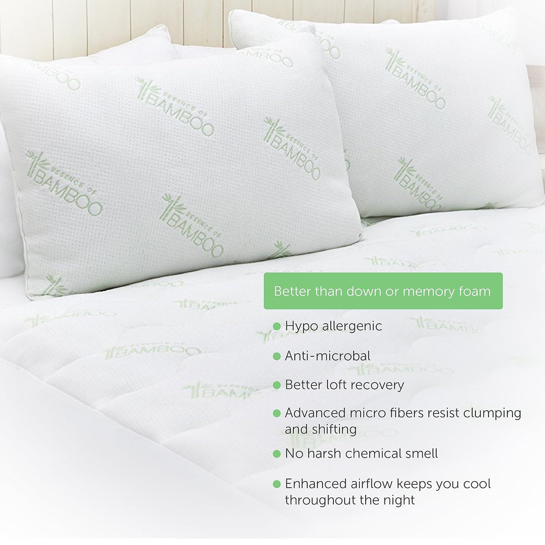Amazon Essence of Bamboo Derived Rayon Pillows The Original