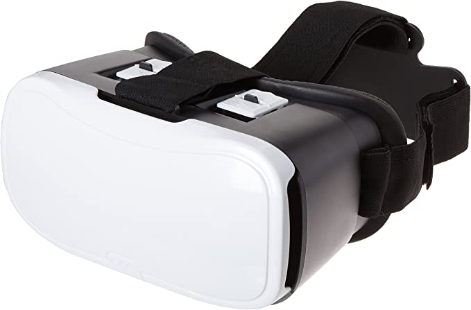Amazon Com Onn White Virtual Reality Vr Smartphone Headset For Apple Or Android