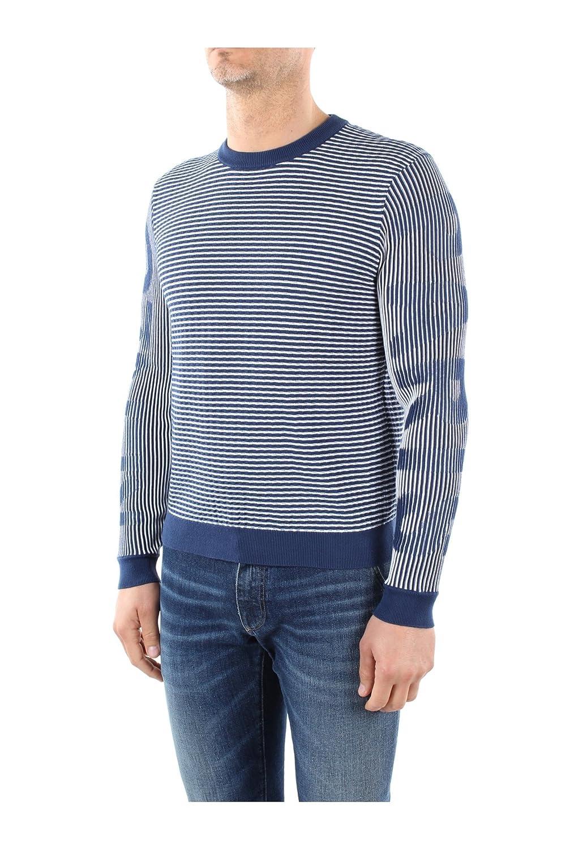 3LA5PU23376K42 Kenzo Sweatshirts Men Cotton Blue