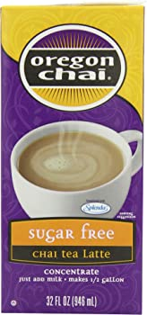 6-Pack Oregon Chai Sugar Free Tea Latte