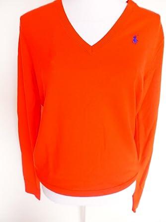 a22d75306d63d7 Ralph Lauren Sport Damen Pullover aus Rein Wolle (S): Amazon.de ...