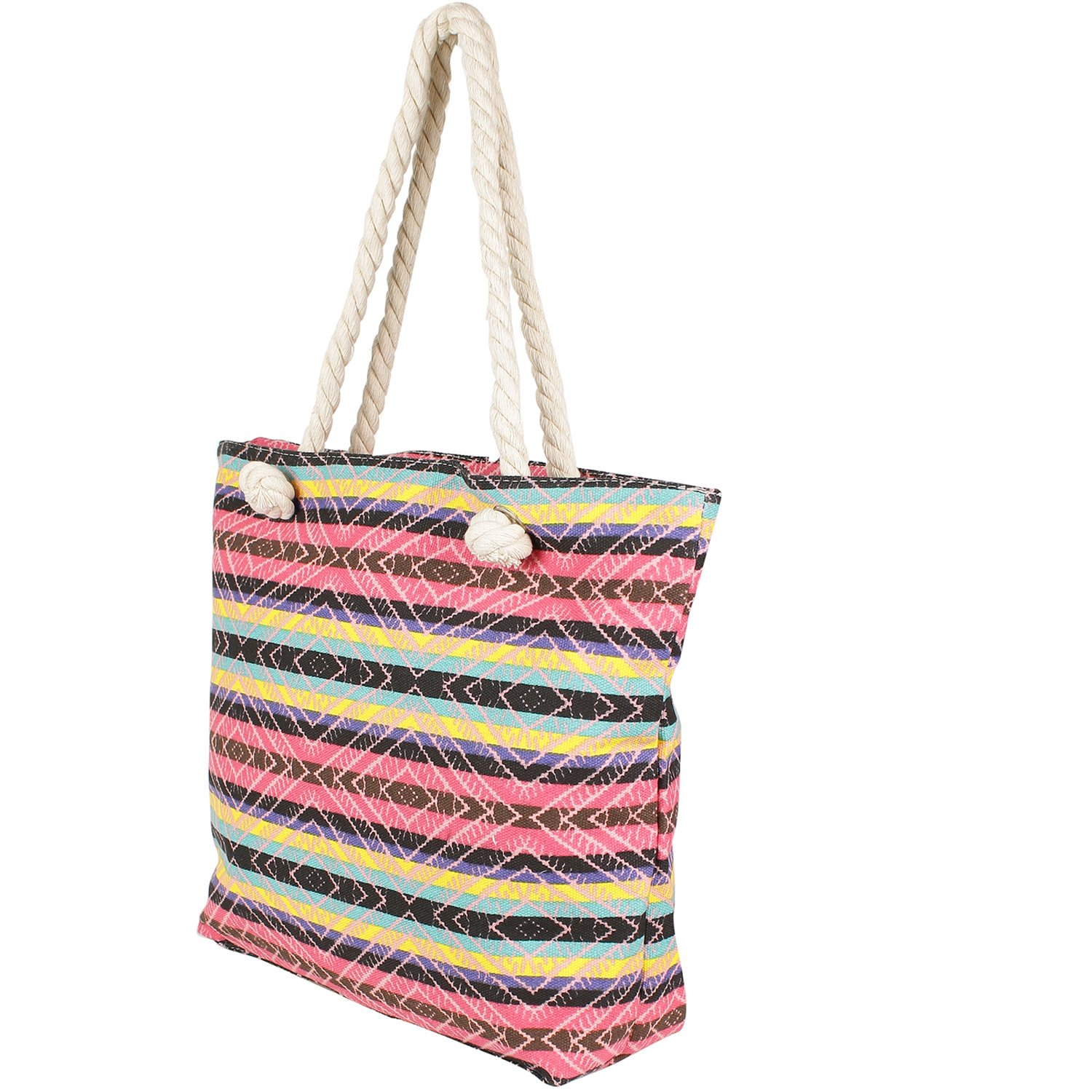 Stripes Patterned Multicolor Hand Bag for Mother s Day  Amazon.in  Shoes    Handbags ad2f8ad253b14