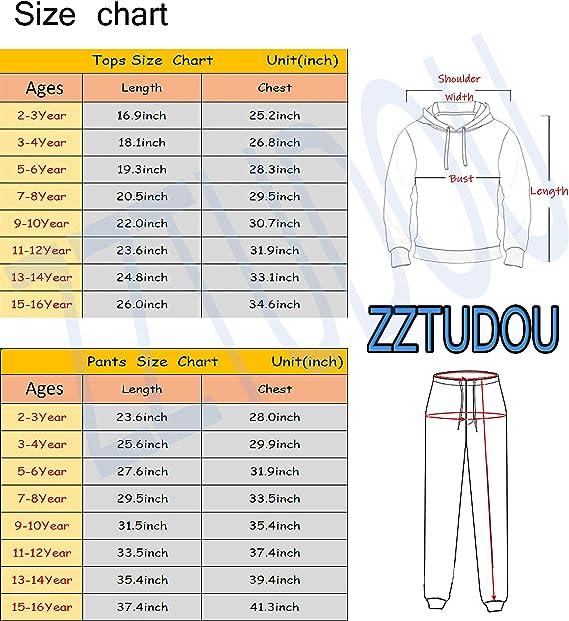 Youth Fashion Logo Hoodies and Fashion Sweatpants Tracksuit for Boys Girls