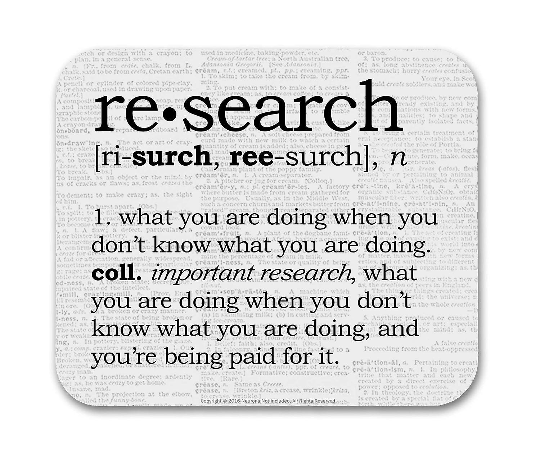 B01HLNRC40 Research Definition Funny Mouse Pad 81Q4ED9P2RL