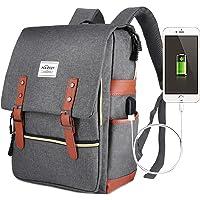 Laptop Backpack,Puersit 15 Inch Laptop Backpack Durable Business College Daypacks Zebella