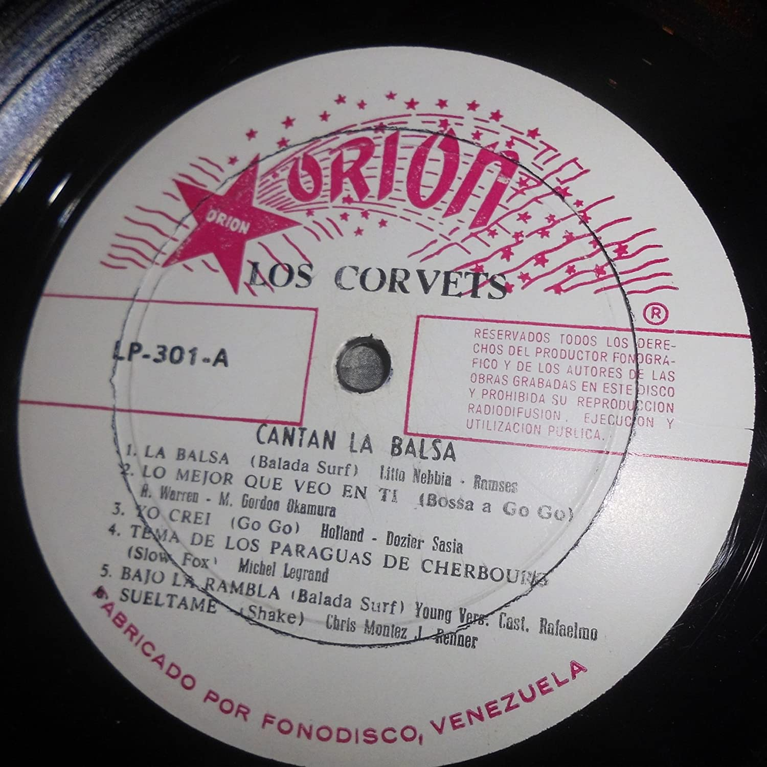Litto Nebbia, Ramses, H. Warren, M. Gordon Okamura, Holland, Dozier Sasia, Michel Legrand, Young, Chris Montez, Moris Pipo, Los Corvets - Los Corvets ...