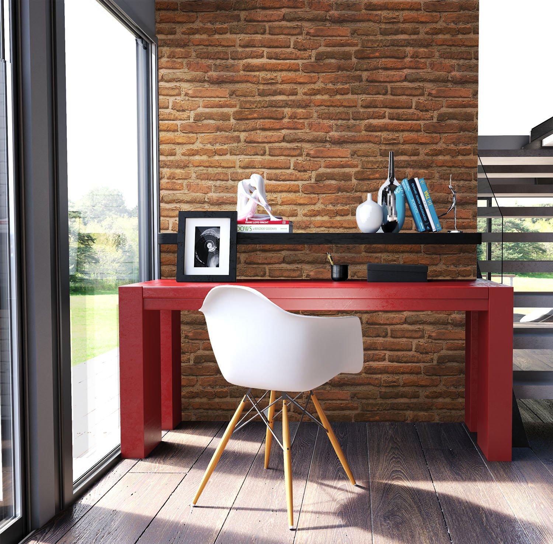 Beautiful Steintapete Vlies Rot Braun Natur Stein Schne Edle Tapete Im Steinmauer Design Moderne D Optik Fr Wohnzimmer Oder Kche Inkl With