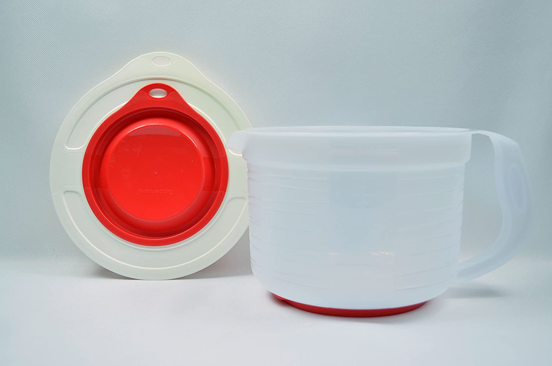 Amazon.com: Tupperware Mix-n-store Plus Pitcher 2 Qt Chili Red ...
