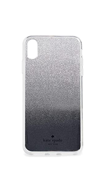 a12518fbaf9d Amazon.com: Kate Spade New York Mirror Ombre iPhone Xs Max Case, Silver,  One Size: Cell Phones & Accessories