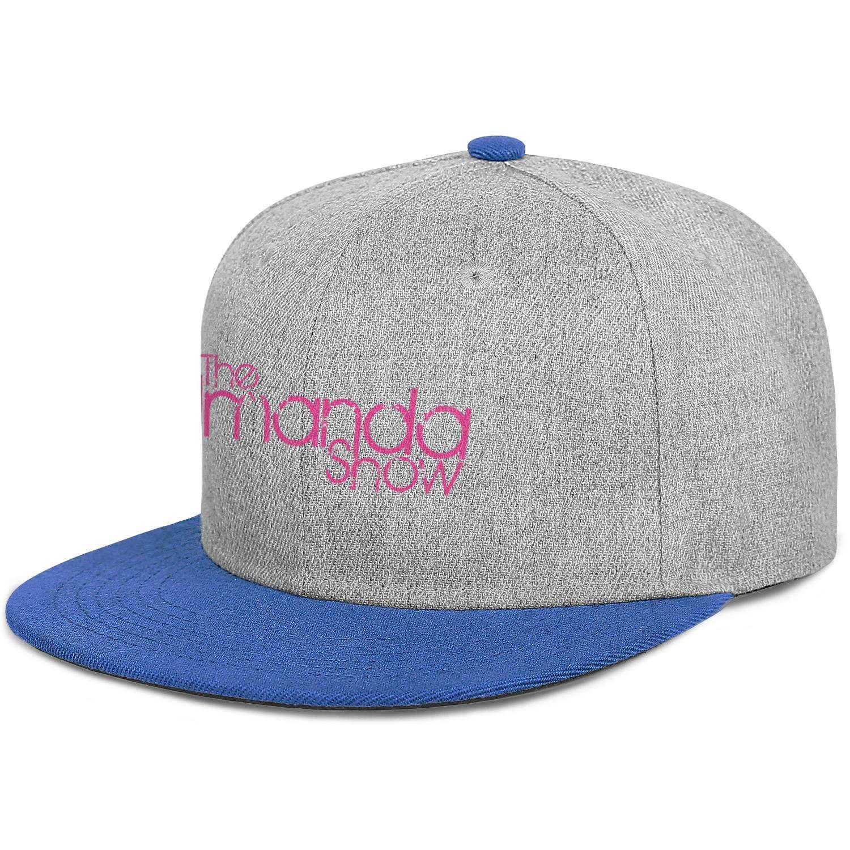 WUSIMEI Sports Snapbacks for Men TheAmandaShow1 Mens Baseball Caps Personalized Womens 80s Hip Hop Caps