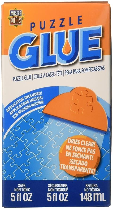 Amazon.com : MasterPieces / Puzzle Glue, 5 oz : Jigsaw Puzzles ...