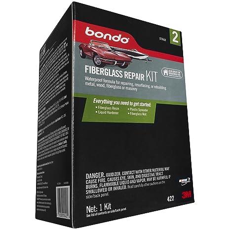 3M Bondo 422 Fiberglass Resin Repair Kit