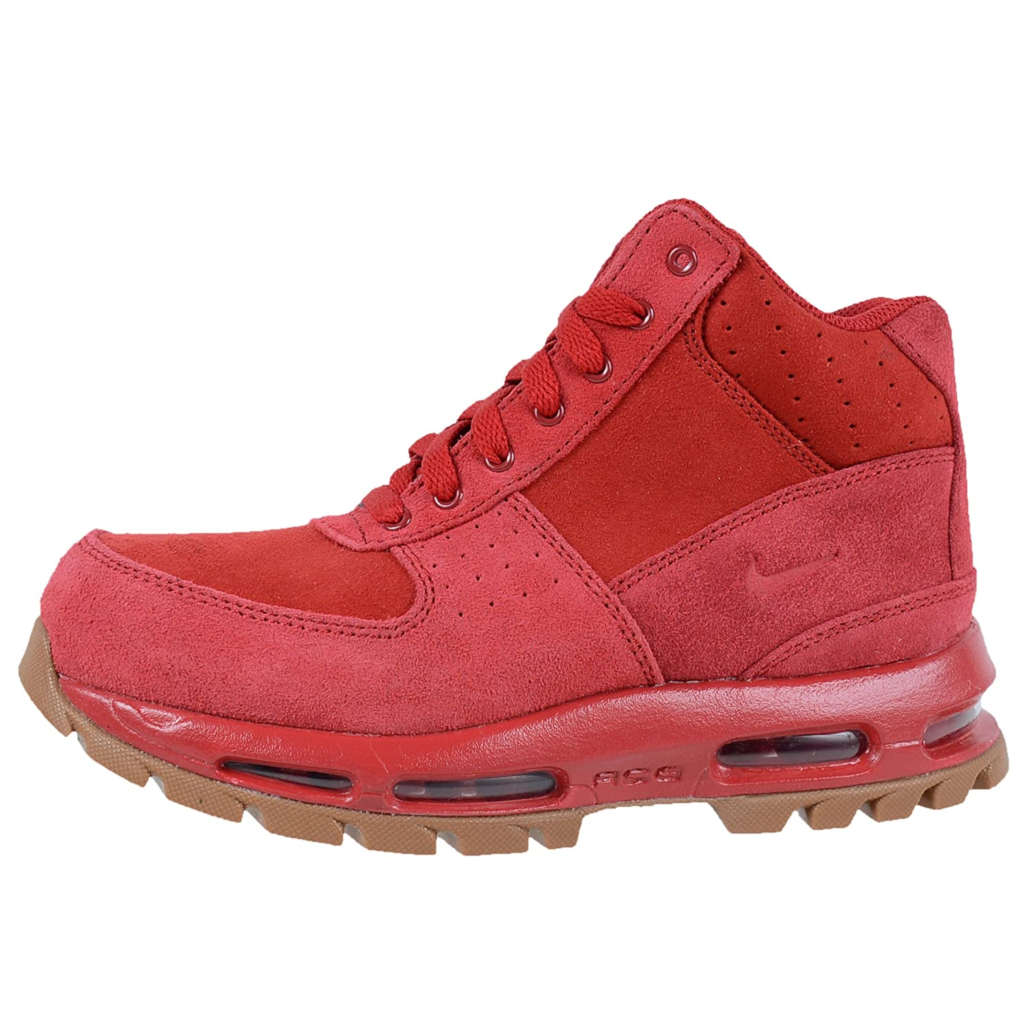 Amazon.com | Nike Kids Air Max Goadome GS ACG Boots Gym Red Gym Red Gum Med  Brown 311567 602 | Boots