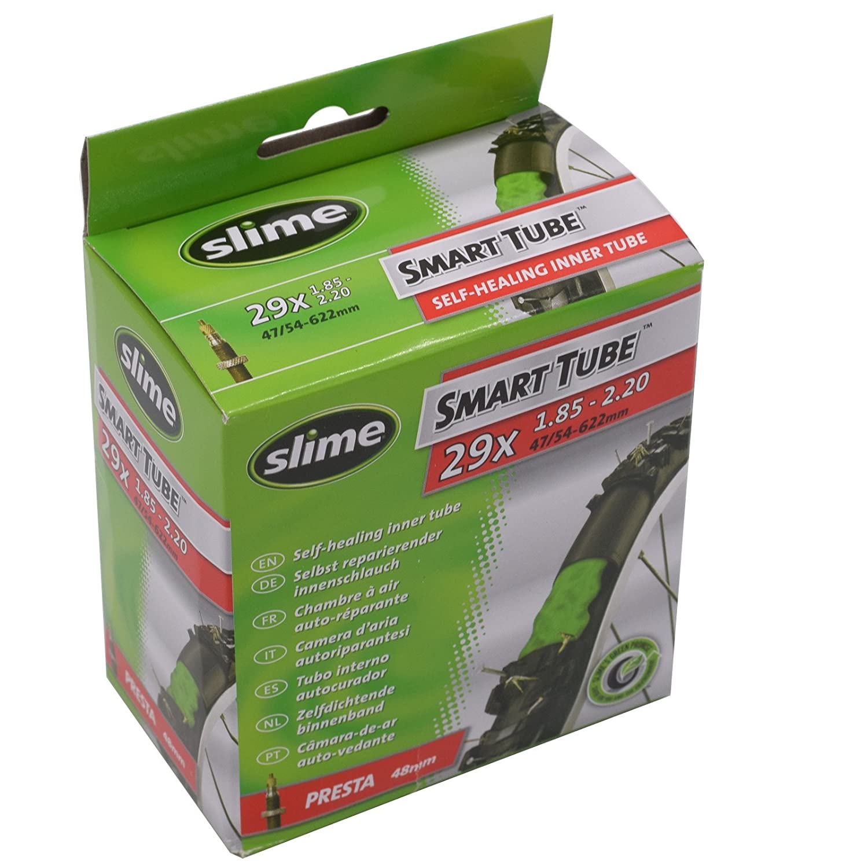 Slime 30043 Cámara Autosellable de Válvula Presta, 29x1.85-2.20: Amazon.es: Deportes y aire libre