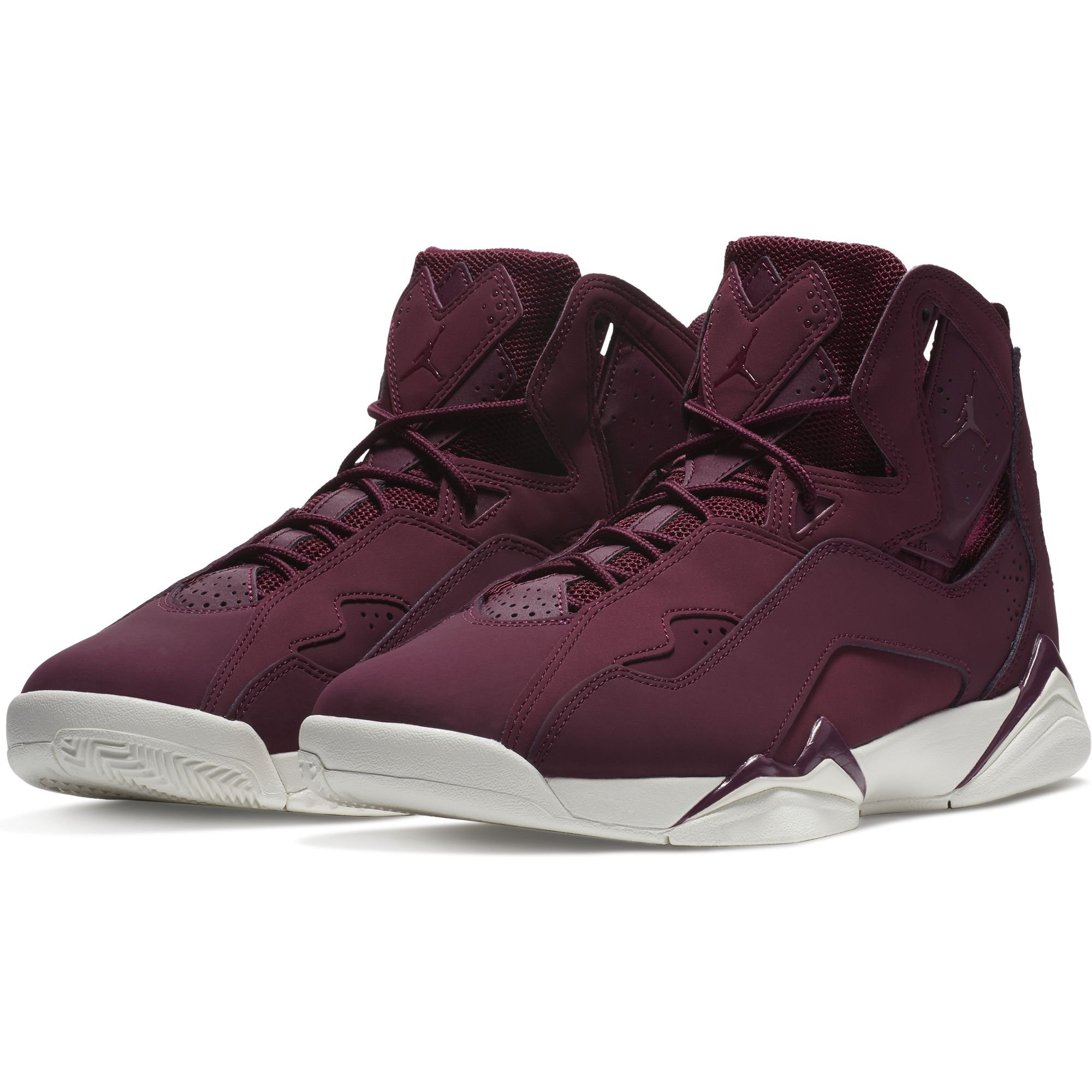 Men's Jordan True Flight Basketball Shoe, Bordeaux/Bordeaux-Sail 7.5 by Jordan