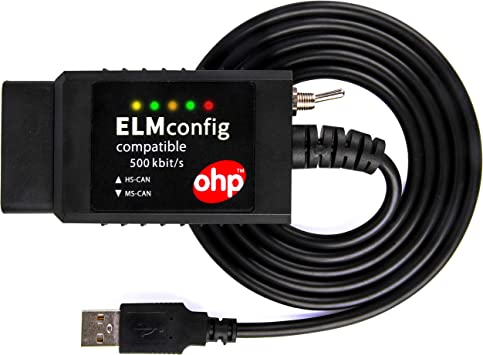 Scanner USB modificato ELM327 per interfaccia compatibile Ford con interruttore MS-CAN HS-CAN per Mazda Forscan OBD2 strumento diagnostico