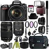 Nikon D750 DSLR Camera with AF-S NIKKOR 24-120mm f/4G ED VR and Tamron AF 70-300mm f/4-5.6 Di LD Macro Lens for Nikon…