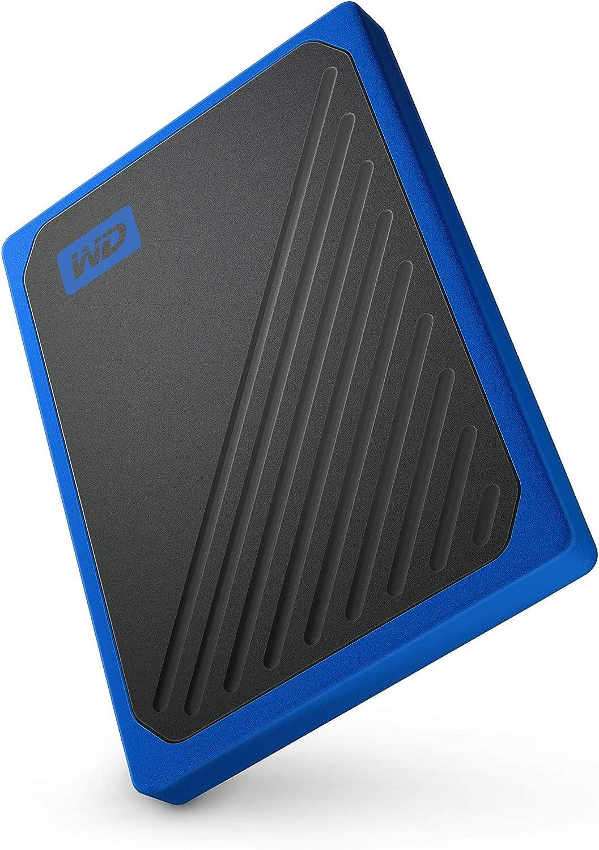 WD My Passport Go 500 GB, disco duro sólido externo - acabado ...
