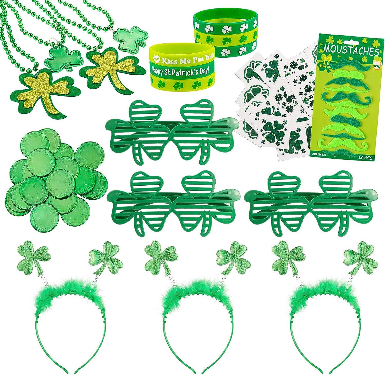 St. Patrick's Day Party Favor Set