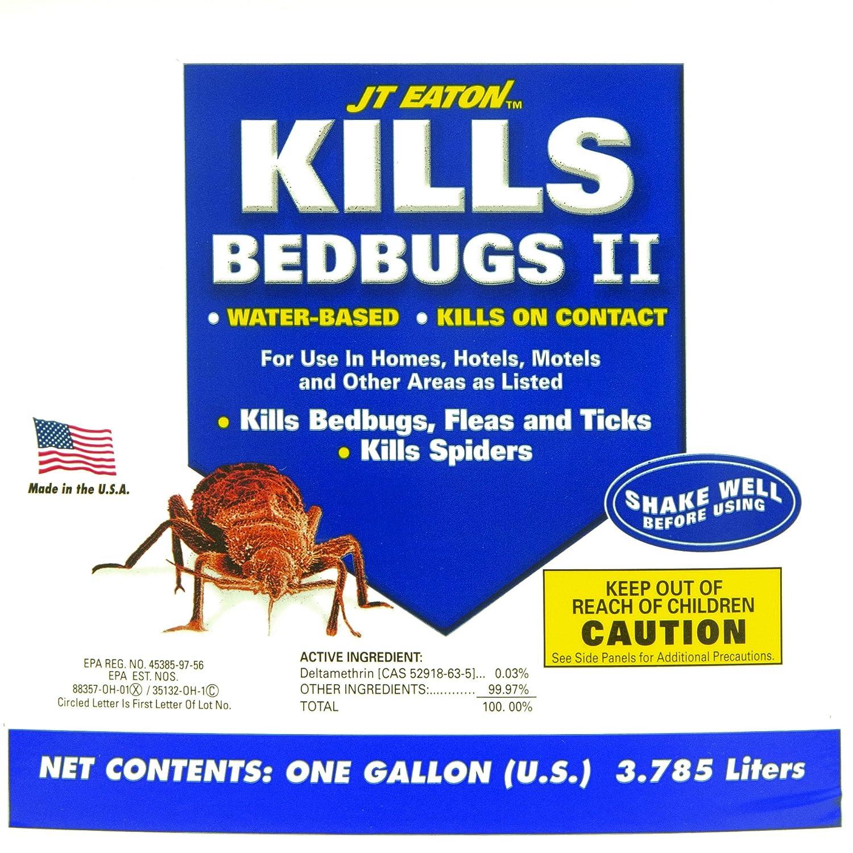 Eaton 207-w Bedbug II Spray 1 Quart - caso de 6 [Garden y exteriores]: Amazon.es: Hogar