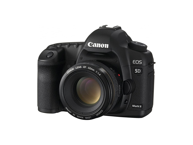 Amazon.com : Canon EOS 5D Mark II Full Frame DSLR Camera (Body Only) (OLD  MODEL) : Camera & Photo