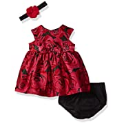 The Children's Place Baby Girls' Flutter Sleeve Casual Dresses, Glamorous 90195, 0-3MONTHS