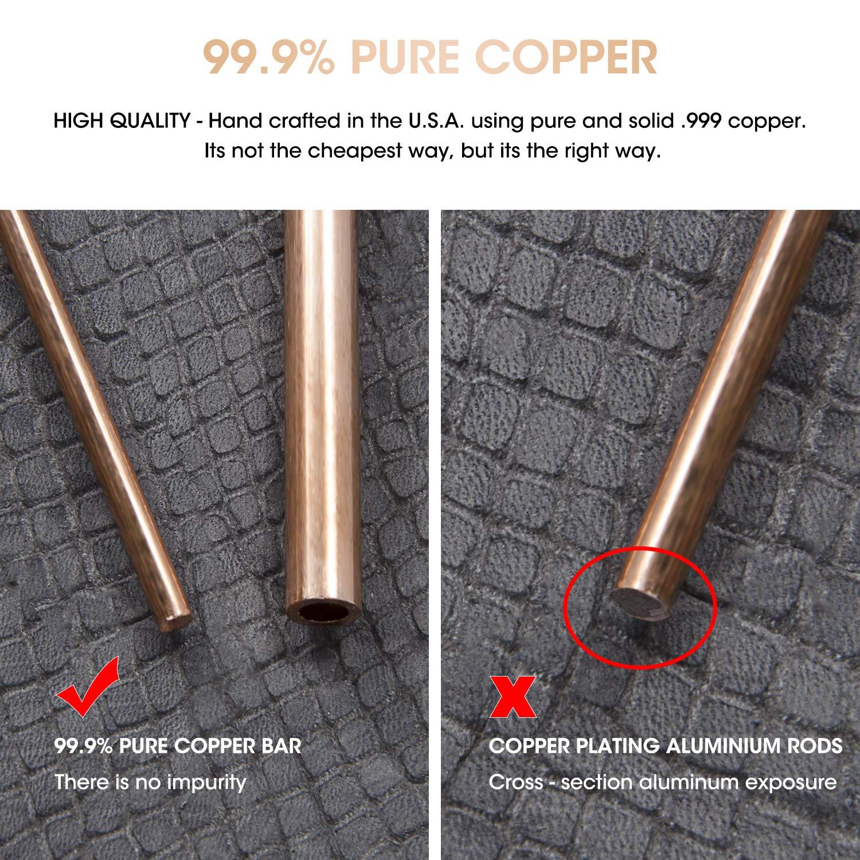 Dwowsing Rod Copper with Bonus Pendulum