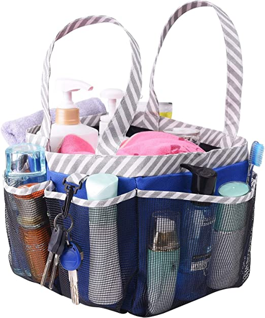 Amazon Com Haundry Mesh Shower Caddy Tote Large Dorm College